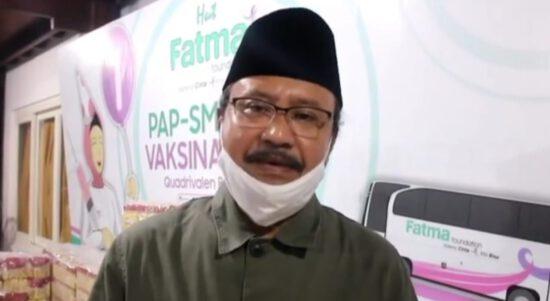 Terpapar COVID-19, Istri Gus Ipul Dirawat di RSU Dr Soetomo Surabaya
