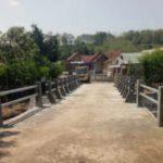 Pembangunan Jembatan di Kecamatan Bareng Program PISEW Terwujud