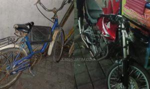Apes, Pemuda Mojoagung Jombang Naik Ontel Ditabrak Motor, Masuk RS