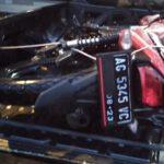 Laka di Jombang, Motor Masuk Kolong Truk, Pemuda Nganjuk Luka Berat