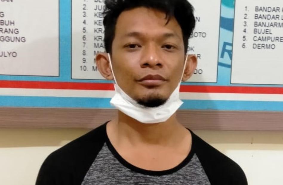 Seorang Bandar Narkoba Lulusan SMP Diringkus Polisi Kediri