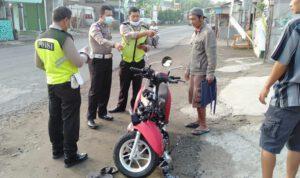 Adu Banteng Motor Honda GL Vs Scoopy di Jombang, 2 Orang Meninggal