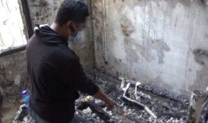 Tragis, Kakek Lumpuh di Jombang Meninggal Terbakar di Dalam Kamar
