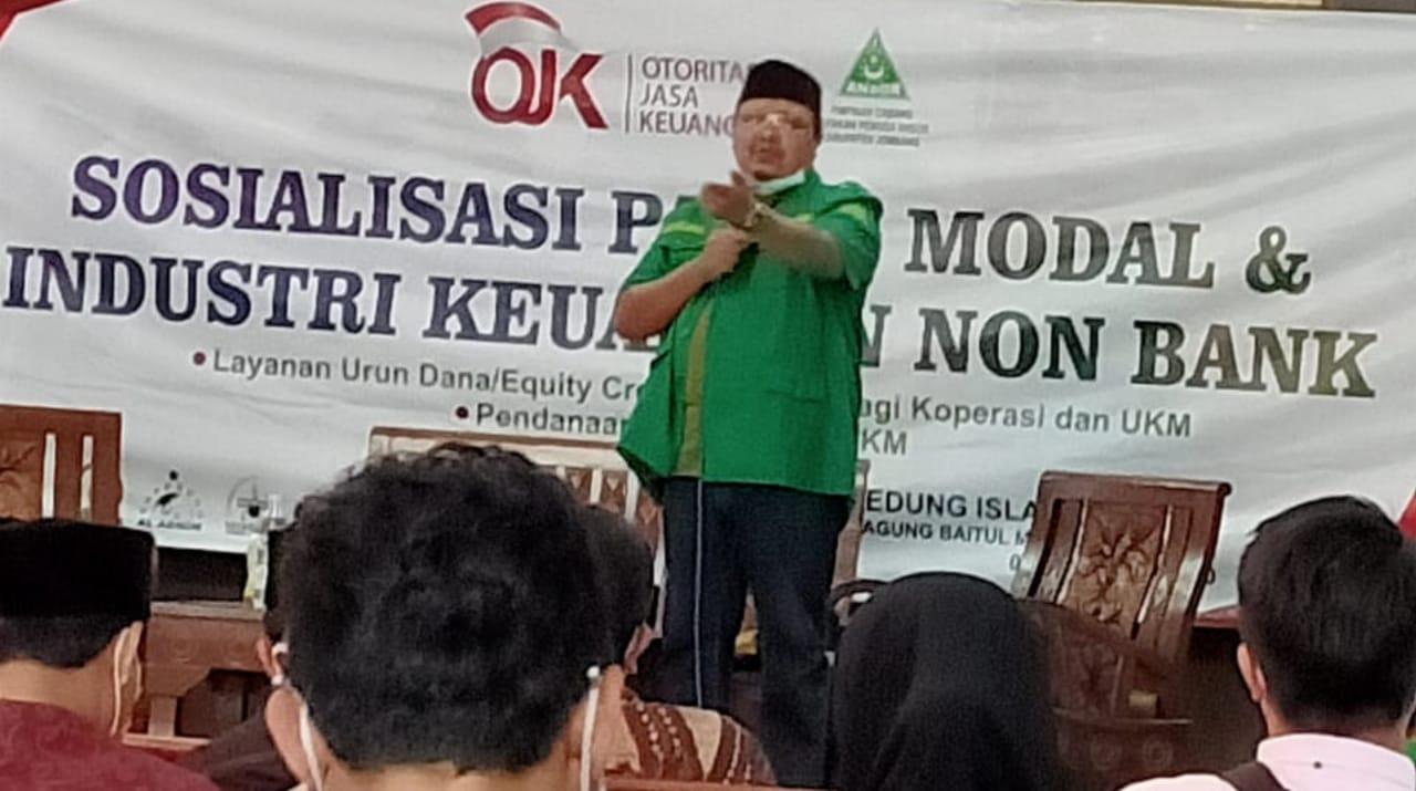 OJK dan Ansor Jombang Ingatkan Masyarakat Terhadap Pinjaman Online, Ini Ciri-cirinya